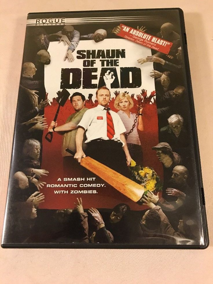 Shaun Of The Dead DVD Simon Pegg, Kate Ashfield, Lucy Davis, Nick Frost