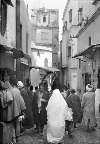 Casbah of Algiers in 1925 | par Benbouzid