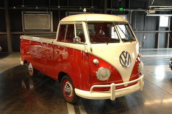 I want one.... just because I love these.   1961 VW single cab