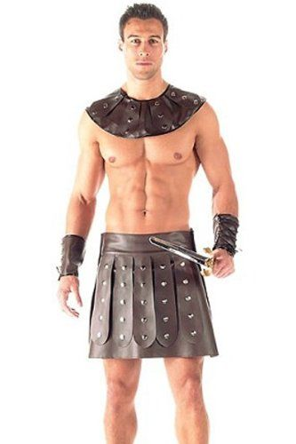 Mens Spartacus Roman Barbarian Gladiator Costume For Men Acient Warrior Y Find This Pin And More On Stag Party Ideas