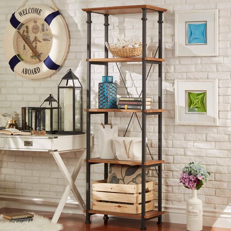 Myra Vintage Industrial Modern Rustic Bookcase by iNSPIRE Q Classic | Overstock.com Shopping - The Best Deals on Office Storage & Organization