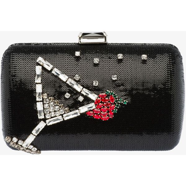 PRADA Clutch ($2,185) ? liked on Polyvore featuring bags ...