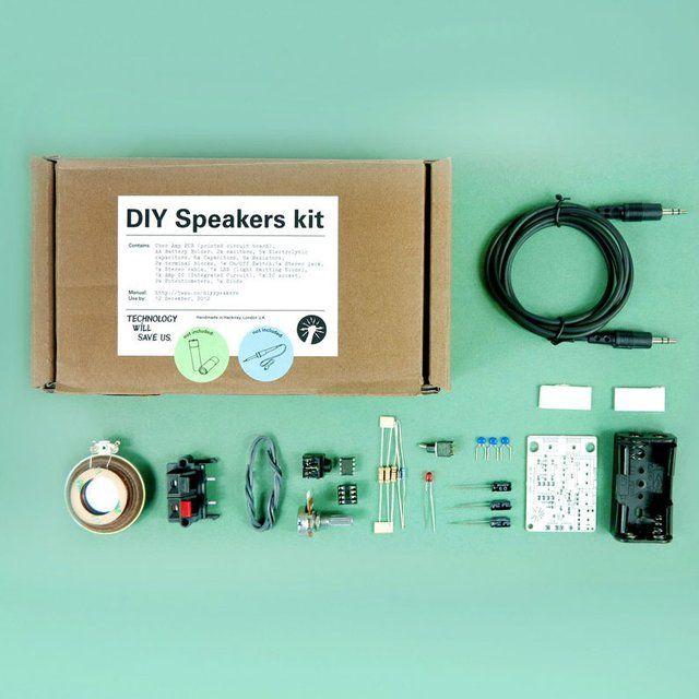 DIY Build your own Speaker Kit $45 #diy #geekery #tech http://fancy.com/things/280344261726046947/DIY-Speakers-Kit?ref=justspamjustin