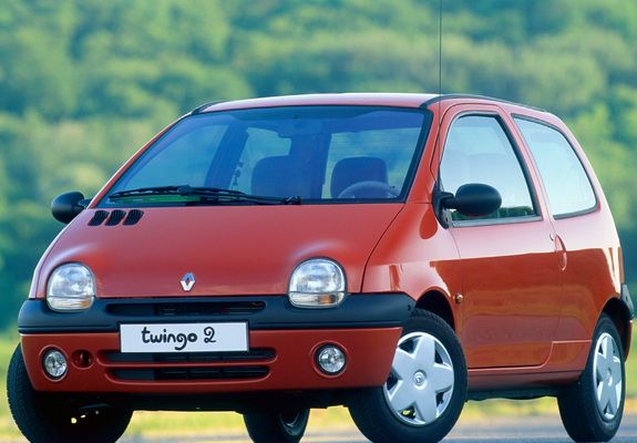 Images of Renault Twingo 1998–2007 - Renault twingo rossa