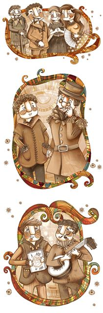 Illustration by Anna Anjos   The Taming of the Shrew