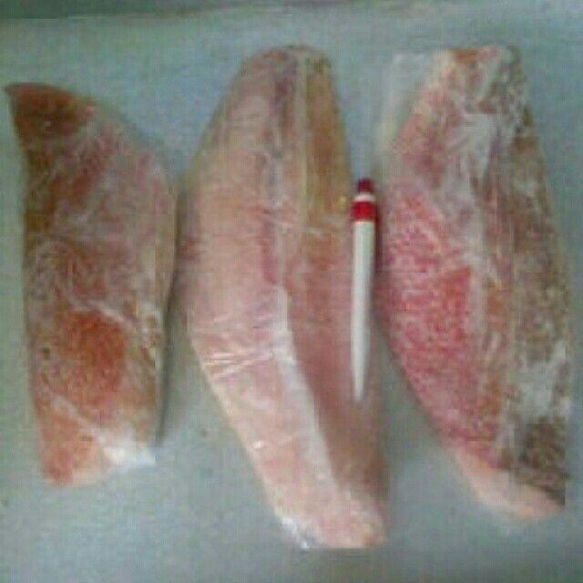 Fillet kakap merah, Rp.50rb/kg