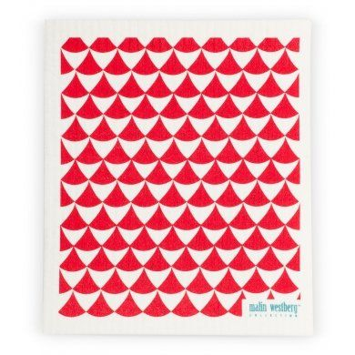 Scandinavian Swedish Dishcloth, Cirkus Red *** Check out the image by visiting the link.