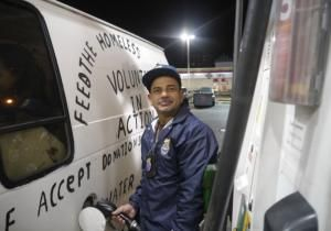 He's a man with a van — and a mission. Construction worker Carlos Vargas, who started a mobile food pantry four years ago, and his volunteer crew feed up to 150 people a week in the Bronx and Manhattan, at a time when the city's homeless population is the highest since the Great Depression.