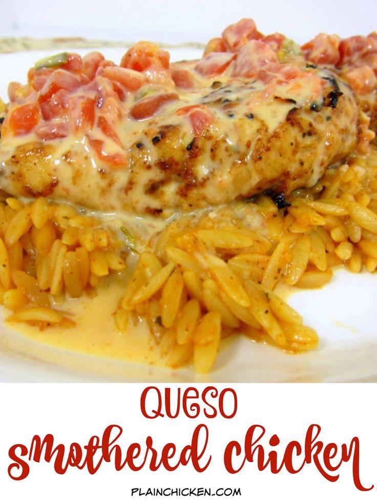 Poached Chicken And Pomegranate Orzo Recipe — Dishmaps