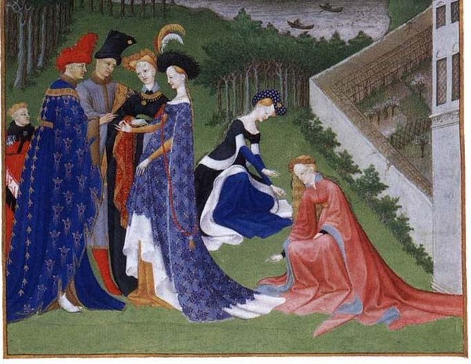 Limbourg Brothers Tres Riches Heures | LIMBOURG brothers Les très riches heures du Duc ... | Really Old Clo ...