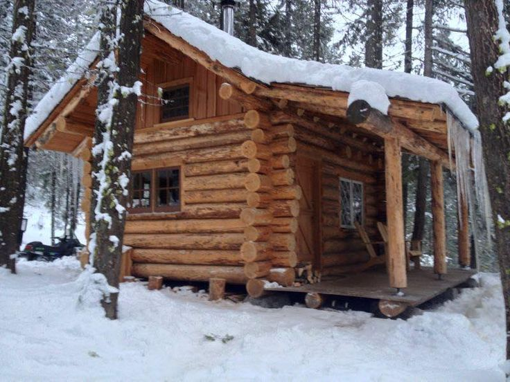 1340 best rustic cabin images on pinterest log cabins for Winter cabin plans