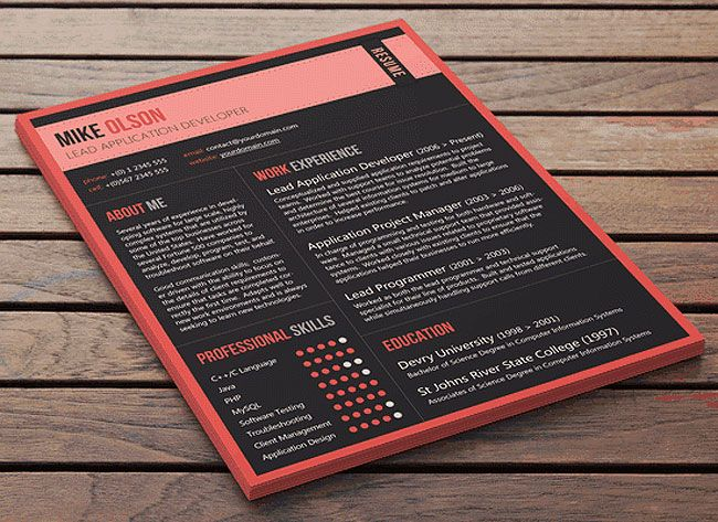 24 best Resume Inspiration images on Pinterest Advertising - how to make resume stand out