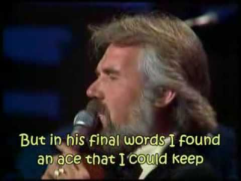 """the Gambler"" by Kenny Rogers this was Peter Michael and Barabars janes song!  ;}"