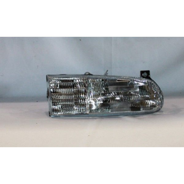 1997 FORD WINDSTAR CHROME/CLEAR EURO HEADLIGHTS - TYC - RIGHT (PASSENGER)