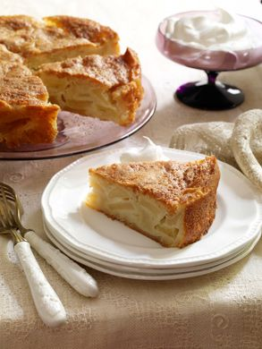 Great apple cake recipe.  I adjusted by adding 1 tsp of cinnamon to flour mixture and reducing the rum 1 tablespoon