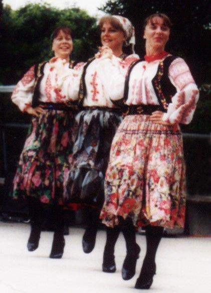 Romanian Dances. Gypsy Folk Ensemble Dancers. Los Angeles