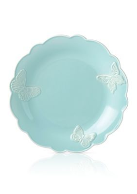 Lenox  Carved Blue Dinner Plate - Blue - One Size