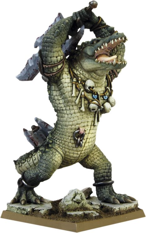 MIERCE MINIATURES - Megálávra, Krokodar Slaughterer