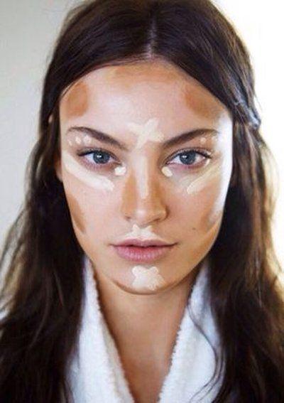 Rozświetlanie i konturowanie twarzy