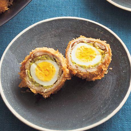 スコッチエッグ風とんカツ | 市瀬悦子さんのとんカツの料理レシピ | プロの簡単料理レシピはレタスクラブニュース