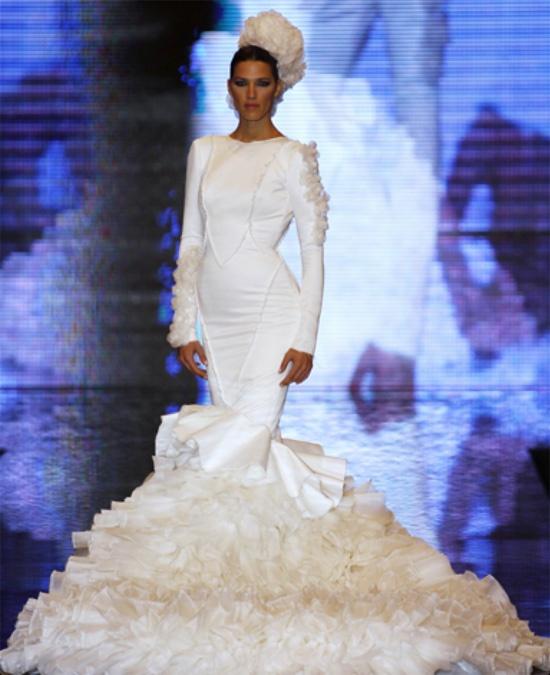Vicky Martin Berrocal #moda #flamenca #fashion