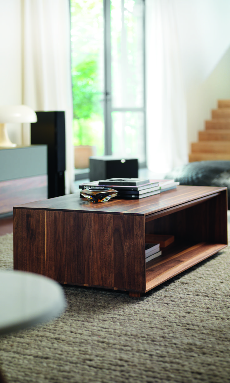 Lux coffee table by TEAM7 in walnut  modern  wood  luxury  custom. 157 best TEAM7 Furniture images on Pinterest   Solid wood