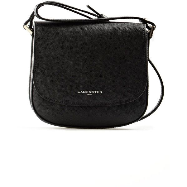 Lancaster Adele Mini Messenger Bag in Black (6.760 RUB) ❤ liked on Polyvore featuring bags, messenger bags, black, mini zip bags, mini bag, zipper messenger bag, zipper bag and lancaster bags