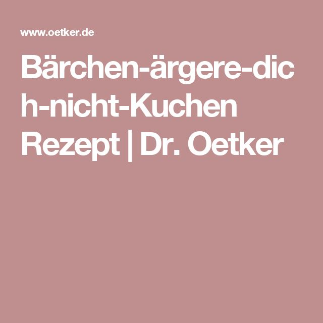 Bärchen-ärgere-dich-nicht-Kuchen Rezept | Dr. Oetker