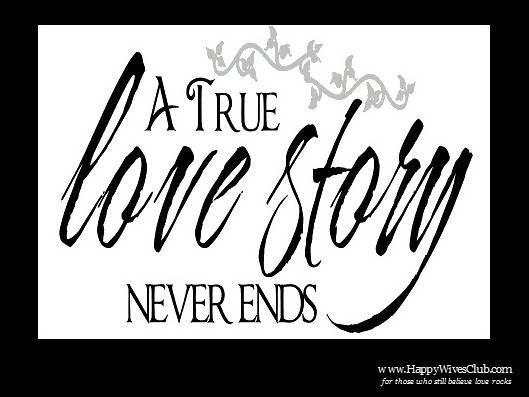 A true #love story never ends.