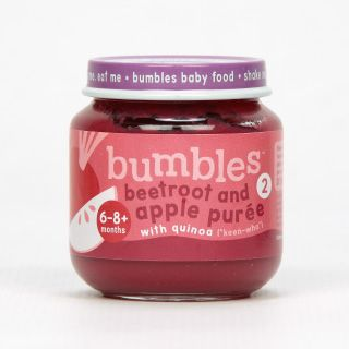 Bumbles™ Baby Food Beetroot and Apple Purée with Quinoa on bumbles.co.za