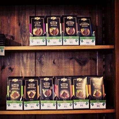 Organic fairtrade chocolates from kaoka! Nam!