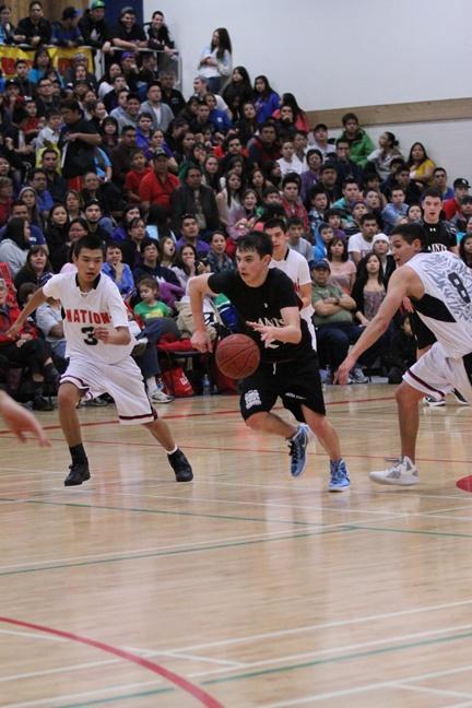All Native basketball boys finals