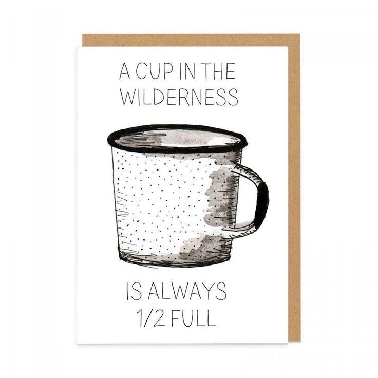 Pilar Prints - Cup Half Full