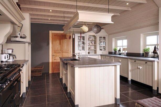 40 beste afbeeldingen over kitchen ideas op pinterest koperen keuken portugees en vloeren - Keuken met kookeiland table ...