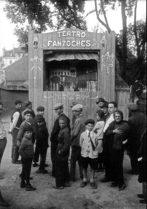1929 Teatro dos Fantoches no Parque Mayer - Lisboa
