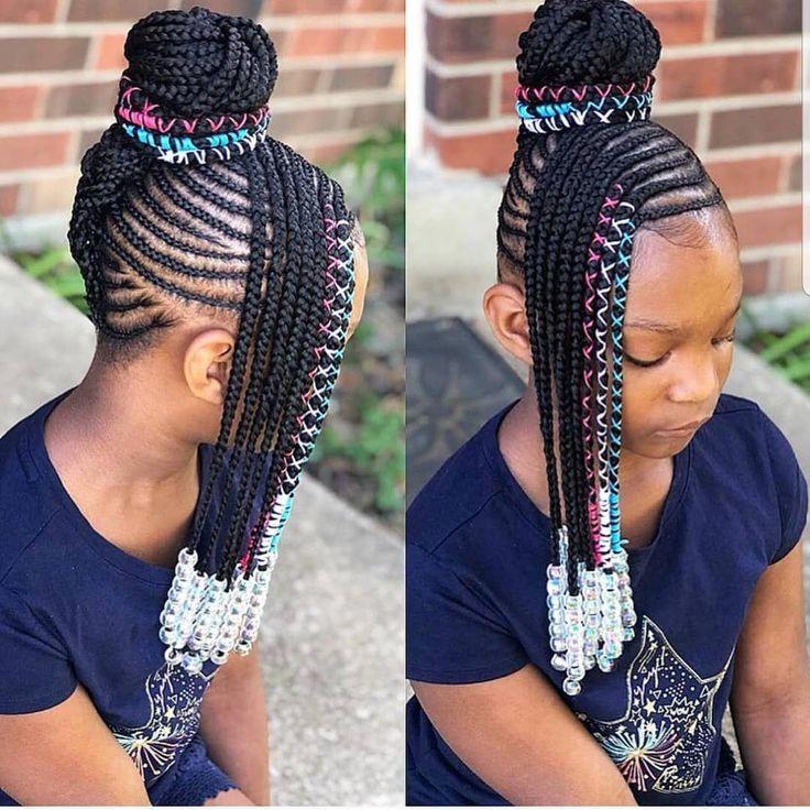 KIDS BRAIDS HAIRSTYLES @ tybaby333 SUIVEZ Les produits de beauté Shaunic pour cheveux, peau et ongles sont maintenant disponibles! www.kissegirl.com Bit.ly/BrownGirl ...