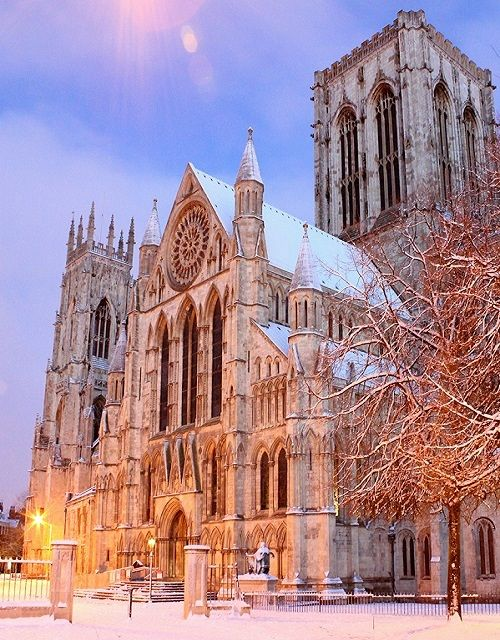 I have been here to when i went to England. I like this Picture of the Church cause I like the winter scenery with the church.