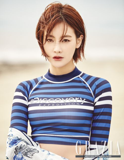 Oh Yeon Seo Endorses Discovery Rash Guards | Koogle TV