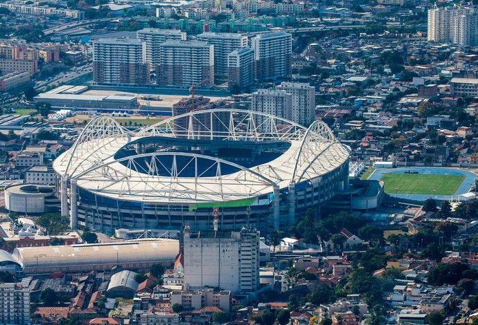 Rio 2016 Engenhão vista aérea (Foto: Gabriel Heusi/Brasil2016.gov.br)