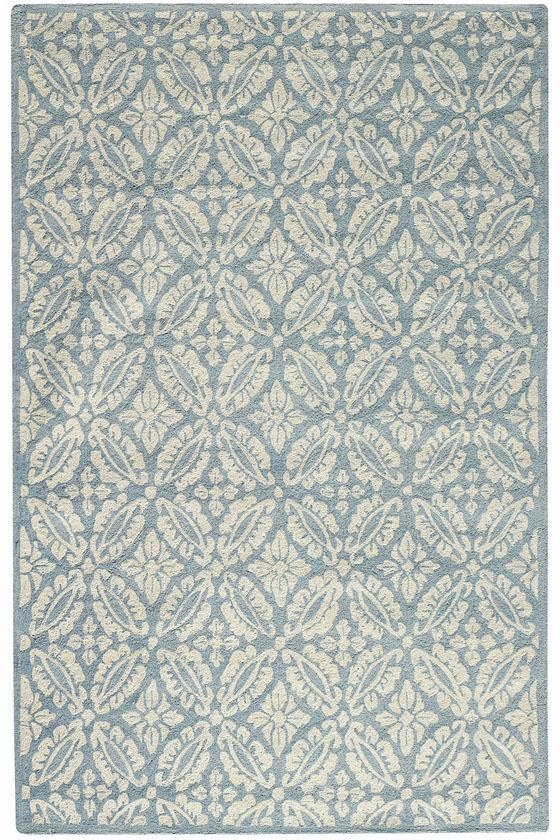 Pale blue rug -could I keep it clean?