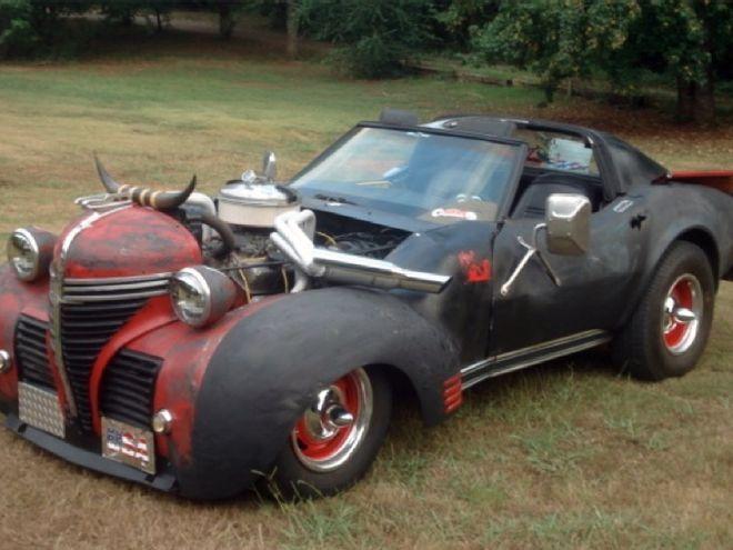Corvette rat rod