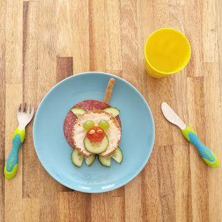 fun lunch - breakfast- ontbijt - bento - hondje - gezond - eten - traktatie