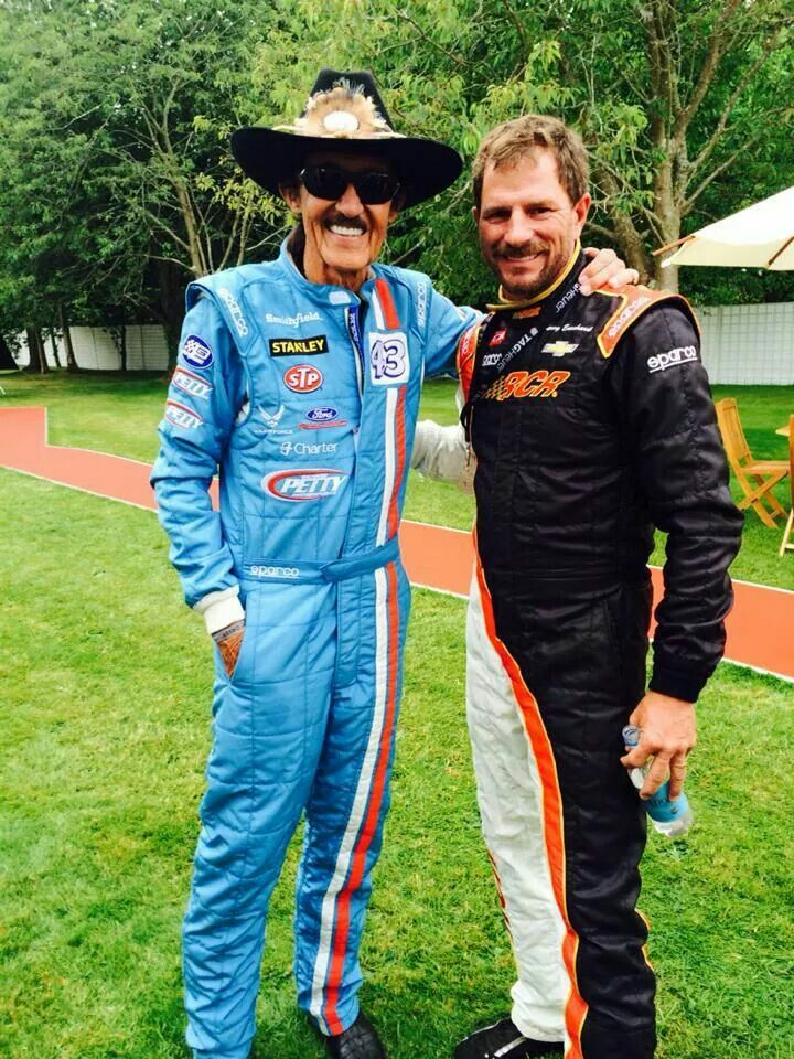 Richard Petty and Kerry Earnhardt | Go VROOOM VROOOOM ...