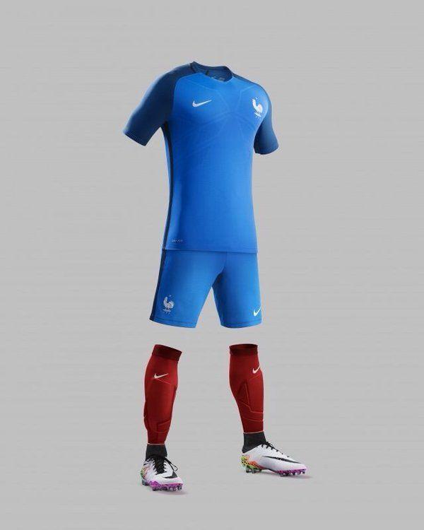 Nike dévoile les maillots de l'équipe de France pour l'Euro 2016