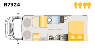 Which is your favourite layout? Double island bed or two singles?