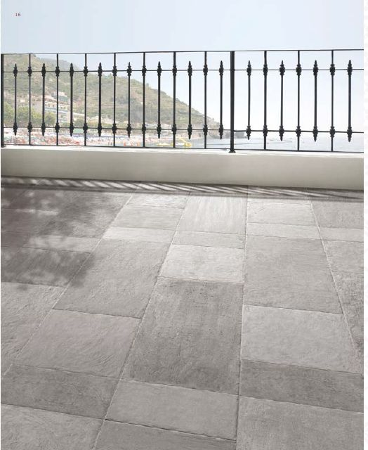 Biarritz Exterior Slip Resistant Porcelain Tile In 16x32, 16x16 And 8x16  Sizes.