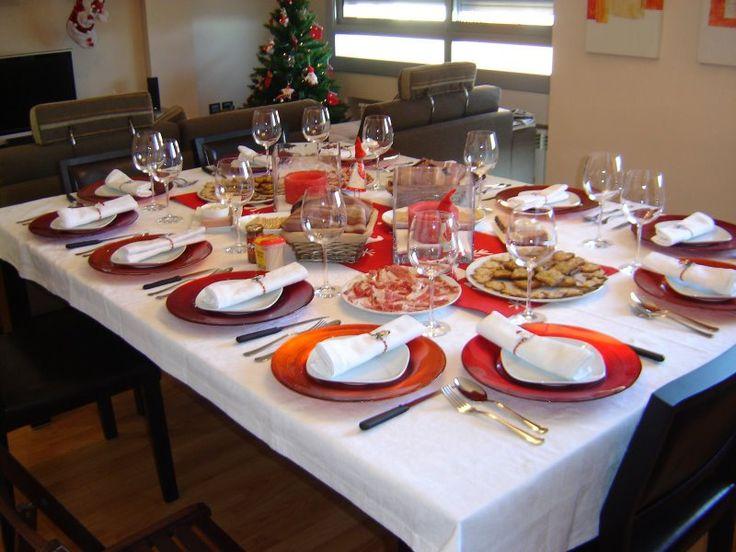 43 best estilos para colocar la mesa images on pinterest - Como poner la mesa en navidad ...