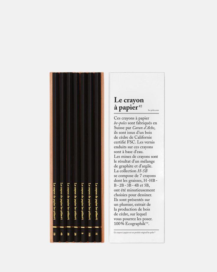 Le Crayon a Papier by be-poles