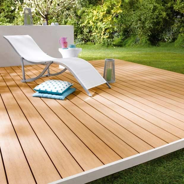 Lame de terrasse Emotion  -  Bois composite - Lapeyre