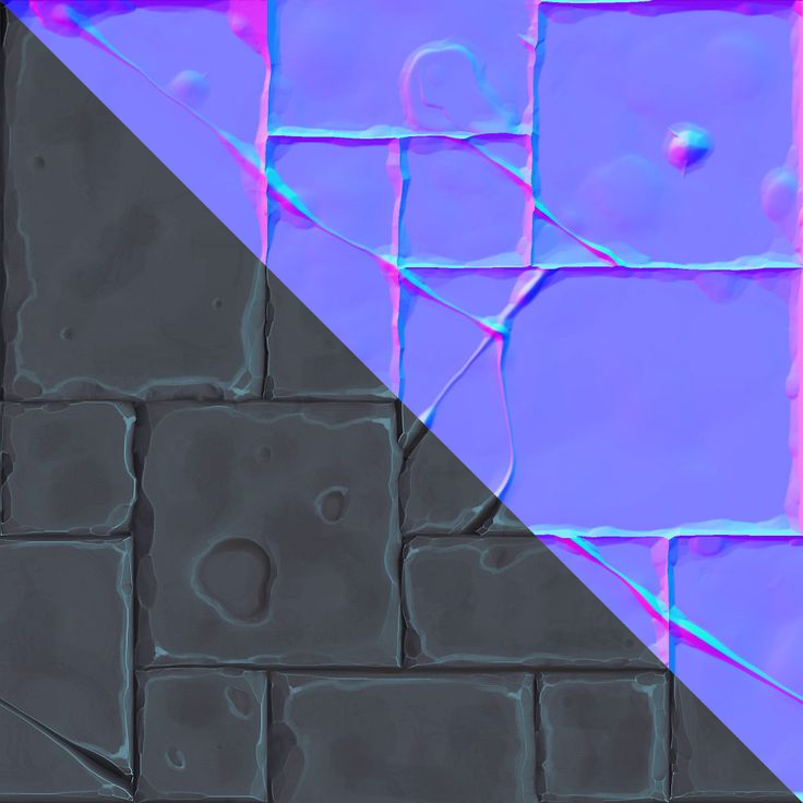 ArtStation - Stone Floor Tiled Texture, Daniel Diaz